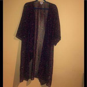 LulaRoe L kimono/Cover up